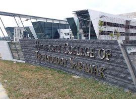 Gate Sign, UCTS, Sarawak