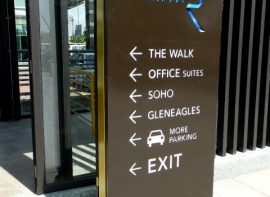 Wayfinder / Directional Sign