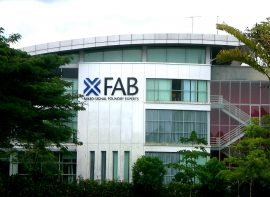 Building Identification Sign for X-FAB, Kuching