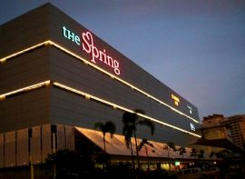Building Sign for THE SPRING Shopping Mall, Kuching