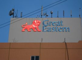 Building Sign for GREAT EASTERN LIFE, Tawau, Sabah