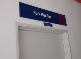 Room Identification Sign for UITM, Mukah, Sarawak