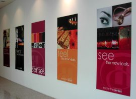 Wall-mounted Poster Panels
