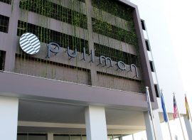 Canopy Sign for Pullman Hotels, Miri