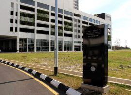 Pylon Sign for Pullman Hotels, Miri