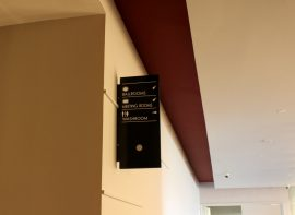Cantilever Directional Sign